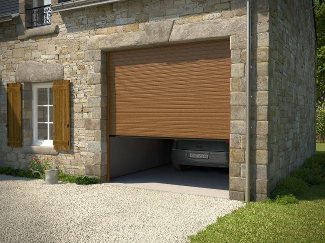 Porte De Garage Enroulable Excelis 77 C T Fen Tres